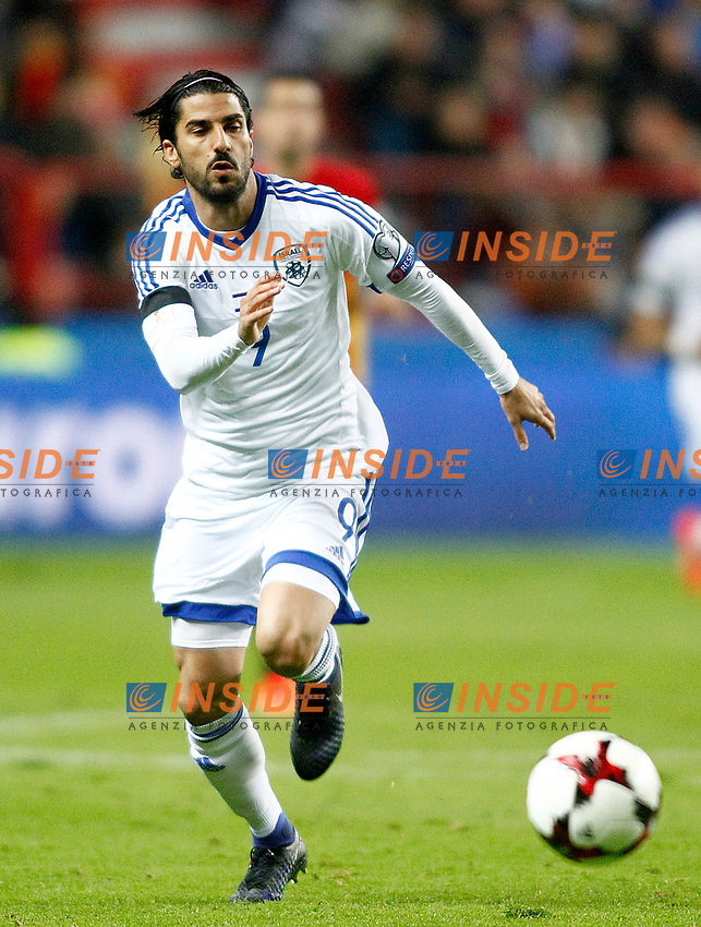 Israel's Lior Refaelov during FIFA World Cup 2018 Qualifying Round match. <br /> Gijon 24-03-2017 Stadio El Molinon <br /> Qualificazioni Mondiali <br /> Spagna - Israele <br /> Foto Acero/Alterphotos/Insidefoto <br /> ITALY ONLY
