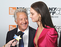 NEW YORK, NY - OCTOBER 01: Dustin Hoffman and Grace Van Patten attends the New York Film Festival screening of The Meyerowitz Stories (New and Selected) at Alice Tully Hall on October 1, 2017 in New York City. <br /> CAP/MPI/JP<br /> &copy;JP/MPI/Capital Pictures