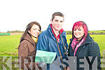 Ballyduff Coursing: Patricia Connolly, Jamie Allen and Vanessa Houlihan all from Ballyduff.