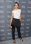 Model Constance Jablonski arrives at the WSJ. Magazine 2017 Innovator Awards at The Museum of Modern Art in New York City, on November 1, 2017.