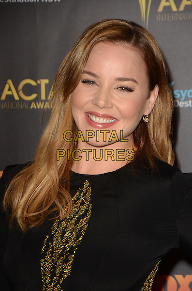 LOS ANGELES, CA - JANUARY 29: Abbie Cornish at the AACTA International Awards at Avalon Hollywood on January 29, 2016 in Los Angeles, California. <br /> CAP/MPI/DE<br /> &copy;DE/MPI/Capital Pictures