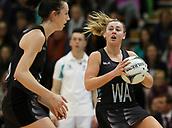 10th September 2017, PG Arena, Napier, New Zealand; Taini Jamison Netball Trophy, New Zealand versus England;  New Zealands Gina Crampton
