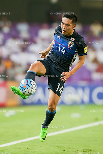 Yuya Kubo (JPN), MARCH 23, 2017 - Football / Soccer : Yuya Kubo of Japan during the FIFA World Cup Russia 2018 Asian Qualifier Group B match between United Arab Emirates and Japan at Hazza Bin Zayed Stadium in Al Ain, United Arab Emirates. (Photo by AFLO)
