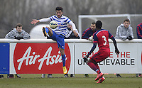 Jordan Gibbons of QPR and Joevin Jones of Chicago Fire