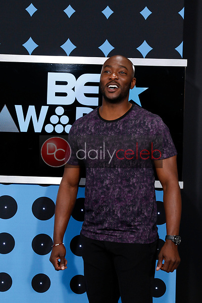 BJ Britt<br /> at the BET Awards 2017, Microsoft Theater, Los Angeles, CA 06-25-17<br /> David Edwards/DailyCeleb.com 818-249-4998