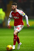 Fleetwood Town's James Husband in action<br /> <br /> Photographer Richard Martin-Roberts/CameraSport<br /> <br /> The EFL Sky Bet League One - Fleetwood Town v Coventry City - Tuesday 27th November 2018 - Highbury Stadium - Fleetwood<br /> <br /> World Copyright &not;&copy; 2018 CameraSport. All rights reserved. 43 Linden Ave. Countesthorpe. Leicester. England. LE8 5PG - Tel: +44 (0) 116 277 4147 - admin@camerasport.com - www.camerasport.com