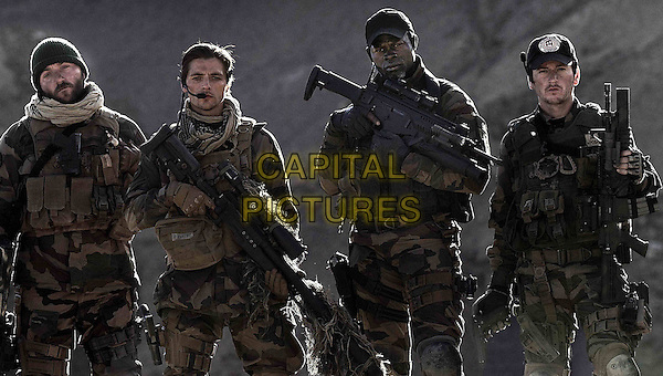 Denis Menochet, Raphael Personnaz, Djimon Hounsou<br /> in Special Forces (2011) <br /> (Forces speciales)<br /> *Filmstill - Editorial Use Only*<br /> CAP/NFS<br /> Image supplied by Capital Pictures