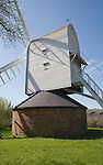 Windmill in the village of Finchingfield, Essex, England