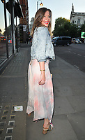 Lucy Horobin at the ELA London spring/summer 19 collection launch party, ELA, Brompton Road, London, England, UK, on Tuesday 14th May 2019.<br /> CAP/CAN<br /> ©CAN/Capital Pictures