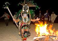 P-Mayan Fire Ceremony, Riviear Maya Mexico 6 12