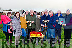 'Kerry Supreme' won the main event of the day at Lixnaw coursing last Sunday  co owned by Tralee man Sean Counihan&Castleisland's Charlie Farrelly.