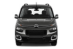 Car photography straight front view of a 2019 Citroen Berlingo Feel 5 Door MPV