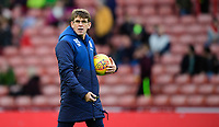 Blackburn Rovers' first team coach David Lowe during the pre-match warm-up<br /> <br /> Photographer Chris Vaughan/CameraSport<br /> <br /> The EFL Sky Bet Championship - Sheffield United v Blackburn Rovers - Saturday 29th December 2018 - Bramall Lane - Sheffield<br /> <br /> World Copyright © 2018 CameraSport. All rights reserved. 43 Linden Ave. Countesthorpe. Leicester. England. LE8 5PG - Tel: +44 (0) 116 277 4147 - admin@camerasport.com - www.camerasport.com
