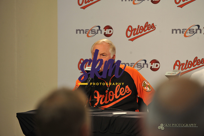 The Orioles hold a press conference  to announce they have signed Adam Jones to a long term contract, locking the center fielder up for 6 six years at $85.5 million.The Orioles hold a press conference  to announce they have signed Adam Jones to a long term contract, locking the center fielder up for 6 six years at $85.5 million.
