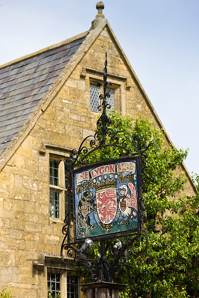 The Lygon Arms Hotel in Broadway, The Cotswolds, England, United Kingdom