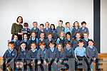 Kenmare School - Teacher: Fiona O'Mahony <br /> Back Row R-L: Ralph Webster, Emer Smyth, Jakub Powalowski, Liam Randles, Holly Tyther, Alannah Quirke, Naoise Orpen, Jessie May O'Shea, Conor O'Donoghue and teacher - Fiona O'Mahony. <br /> Middle Row R-L: Alie Wiley, Alexa Crowley, &Oacute;rla Hurley, Justine Sullivan Kuzma, Julia Radosz, Marek Pitonak, Freya Granville, Hannah Murphy, Elizabeth. <br /> Front Row R-L: Amelie Murphy, Ben Deasy, Louie Hegarty, Saoirse Clifford, Sean Moriarty, Quillan McCarthy, Isa Noonan, Sophie Wiggins and Olti Cakiqi.