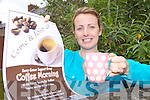 COFFEE TIME: Mary Brick from Kilmoyley who is holding a coffee morning this Saturday in Ardfert in aid of the Kerry Cancer Support Group.