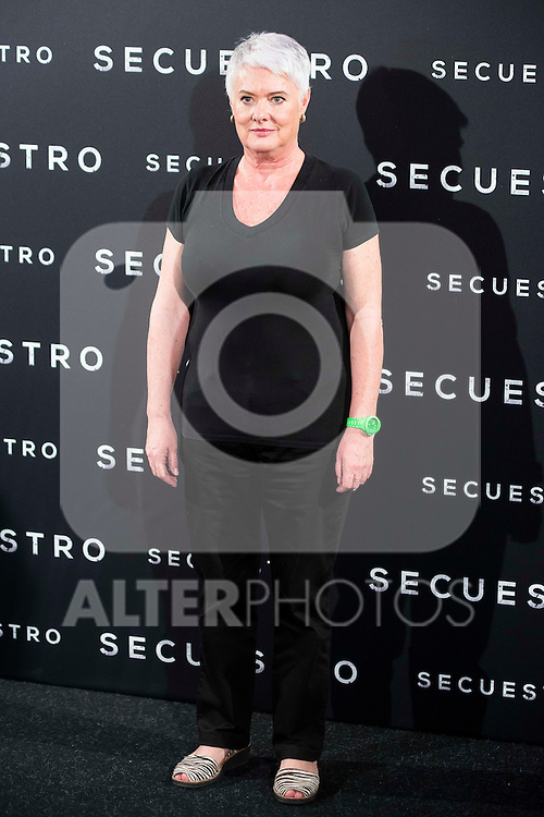 "The director of the film, Mar Targarona during the presentation of the spanish film ""Secuestro"" in Madrid. July 27. 2016. (ALTERPHOTOS/Borja B.Hojas)"