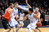 GRONINGEN - Basketbal, Donar - Feyenoord,  beker ,seizoen 2019-2020, 22-01-2020,  overgespeelde bekerwedstrijd, Donar speler Carrington Love