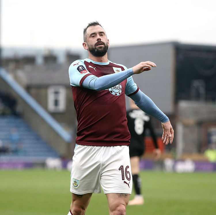 Burnley's Steven Defour<br /> <br /> Photographer Rich Linley/CameraSport<br /> <br /> Emirates FA Cup Third Round - Burnley v Barnsley - Saturday 5th January 2019 - Turf Moor - Burnley<br />  <br /> World Copyright © 2019 CameraSport. All rights reserved. 43 Linden Ave. Countesthorpe. Leicester. England. LE8 5PG - Tel: +44 (0) 116 277 4147 - admin@camerasport.com - www.camerasport.com
