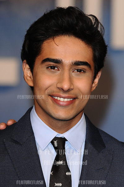 "Suraj Sharma arriving for the ""Life of Pi"" premiere at the Empire, Leicester Square, London. 03/12/2012 Picture by: Steve Vas / Featureflash"