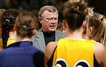 SIOUX FALLS, SD - FEBRUARY 27:   Augustana Women's basketball coach Dave Krauth.(Photo by Dave Eggen/Inertia)