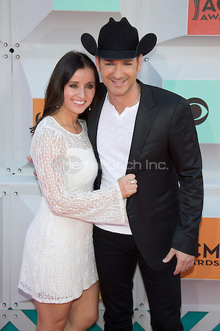 LAS VEGAS, NV - APRIL3: Mindy Ellis and Craig Campbell arriving to the 51st Academy Of Country Music Awards at the MGM Grand Garden Arena in Las Vegas, Nevada on April 3, 2016. Credit: Erik Kabik Photography/MediaPunch