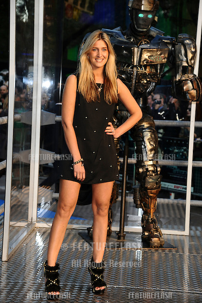 "Francesca Hull arrives for the ""Real Steel"" premiere at the Empire Leicester Square, London. 14/09/2011  Picture by: Steve Vas / Featureflash"
