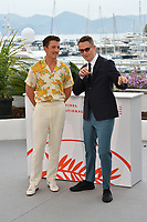 "CANNES, FRANCE. May 18, 2019: Miles Teller & Nicolas Winding Refn at the photocall for the ""Too Old to Die Young"" at the 72nd Festival de Cannes.<br /> Picture: Paul Smith / Featureflash"