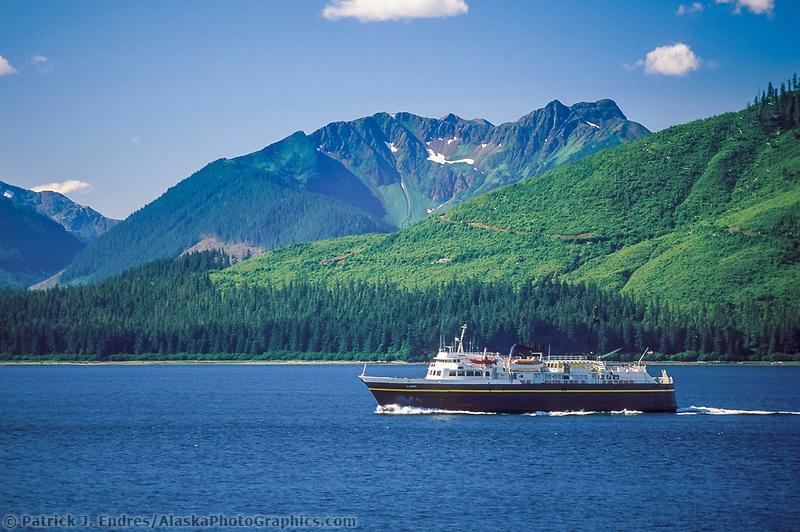 Alaska Marine Ferry, LeConte, Inside passage, southeast Alaska