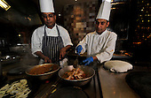 Curry competition preview - Slumdog in Sauchihall St - Glasgow - chefs Vijay Sapkota (right) and Yugal Kishore - picture by Donald MacLeod – 21.10.11 – clanmacleod@btinternet.com 07702 319 738 donald-macleod.com