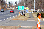 WOODBURY CT. 15 January 2018-011519SV03-Resident&rsquo;s plea for sidewalk repairs along Main Street in Woodbury. They say sidewalks that aren't even with driveways, tree roots growing in them, sidewalks that just end etc.<br /> Steven Valenti Republican-American