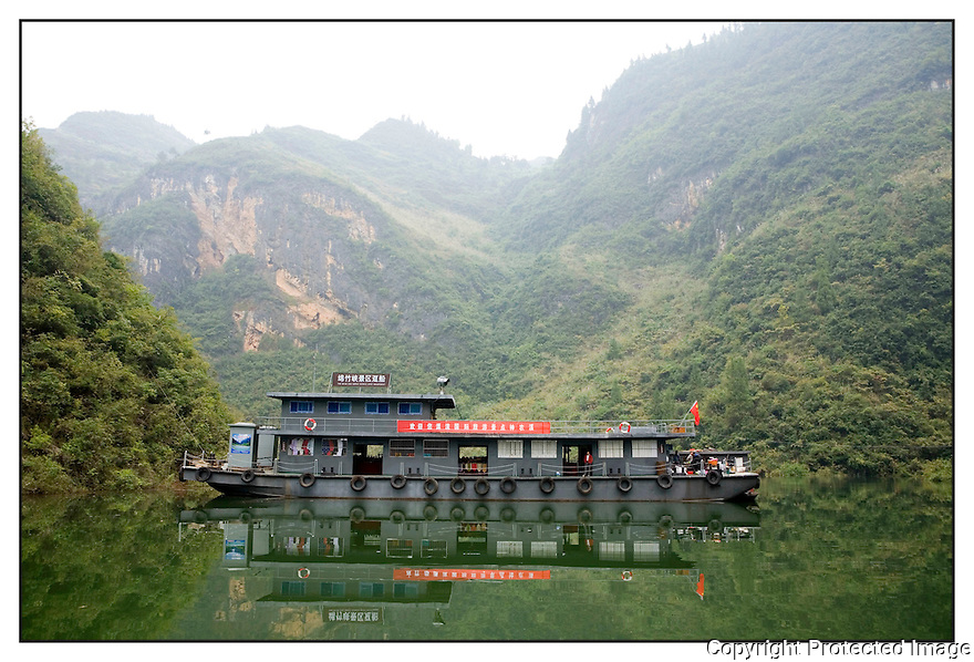 Chine<br /> Yangzi Jiang<br /> &quot;Fleuve Bleu&quot;