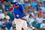 3 July 2005: Derrek Lee, All-Star first baseman for the Chicago Cubs, at bat during a game against the Washington Nationals. The Nationals defeated the Cubs 5-4 in 12 innings to sweep the 3-game series at Wrigley Field in Chicago, IL. Mandatory Photo Credit: Ed Wolfstein
