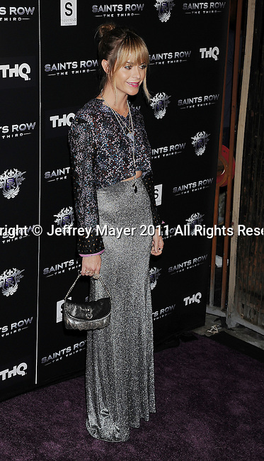 """LOS ANGELES, CA - OCTOBER 12: Taryn Manning arrives at THQ's """"Saints Row: The Third"""" sneak peek premiere event and concert at SupperClub Los Angeles on October 12, 2011 in Los Angeles, California."""