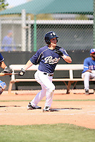 Kyle Loretelli, San Diego Padres minor league spring training..Photo by:  Bill Mitchell/Four Seam Images.