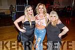 Bridget Burke, Tara O'Sullivan and Winnie Burke enjoying the Bon Jovee fundraiser in the Brandon Hotel on Saturday.