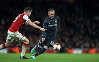 Bibras Natkho of CSKA Moscow during the UEFA Europa League QF 1st leg match between Arsenal and CSKA Moscow  at the Emirates Stadium, London, England on 5 April 2018. Photo by Andrew Aleksiejczuk / PRiME Media Images.