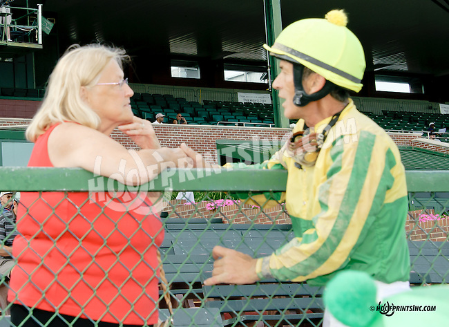 Fran and Kerwin Clark at Delaware Park on 7/30/14