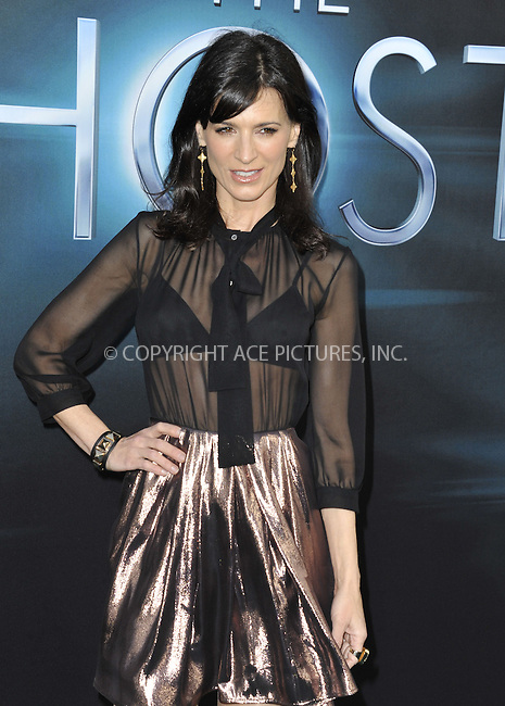 WWW.ACEPIXS.COM....March 19 2013, LA....Perrey Reeves arriving at the 'The Host' Los Angeles premiere at the ArcLight Cinemas Cinerama Dome on March 19, 2013 in Hollywood, California. ....By Line: Peter West/ACE Pictures......ACE Pictures, Inc...tel: 646 769 0430..Email: info@acepixs.com..www.acepixs.com