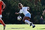 20 November 2016: North Carolina's Maya Worth. The University of North Carolina Tar Heels played the Clemson University Tigers at Fetzer Field in Chapel Hill, North Carolina in a 2016 NCAA Division I Women's Soccer Tournament Third Round match. UNC won the game 1-0.