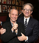 Joel Grey and William Ivey Long attend the William Ivey Long Sardi's portrait unveiling and 70th Birthday Party at Sardi's Restaurant on August 30, 2017 in New York City.