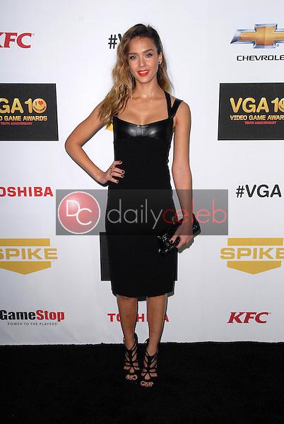 Jessica Alba<br /> at Spike TV`S Video Game Awards 2012, Sony Pictures Studios, Culver City, CA 12-07-12<br /> David Edwards/DailyCeleb.com 818-249-4998