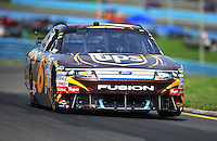Aug. 8, 2009; Watkins Glen, NY, USA; NASCAR Sprint Cup Series driver David Ragan during practice for the Heluva Good at the Glen. Mandatory Credit: Mark J. Rebilas-