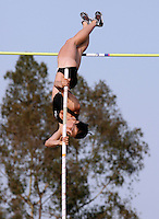 April Steiner-Bennett cleard 4.27m in the pole vault event at the Adidas Track Classic 2009 held at The Home Depot Center on Saturday May 16, 2009. Photo by Errol Anderson, The Sporting Image.net