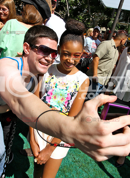 Alexander Ludwig, Amandla Stenberg, Dayo Okeniyi  Jack Quaid.<br />