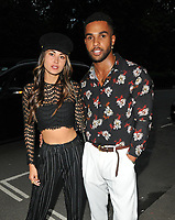 Ana Tanaka and Lucien Laviscount at the Moet Summer House launch party, Moet Summer House, Grosvenor Square, London, England, UK, on Thursday 07 June 2018.<br /> CAP/CAN<br /> &copy;CAN/Capital Pictures