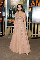 """LOS ANGELES - OCT 11:  Zoey Deutch at the """"Zombieland Double Tap"""" Premiere at the TCL Chinese Theater on October 11, 2019 in Los Angeles, CA"""