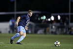 CARY, NC - SEPTEMBER 29: UNC's John Nelson. The University of North Carolina Tar Heels hosted the North Carolina State University Wolfpack on September 29, 2017 at Koka Booth Field at WakeMed Soccer Park in Cary, NC in a Division I college soccer game.