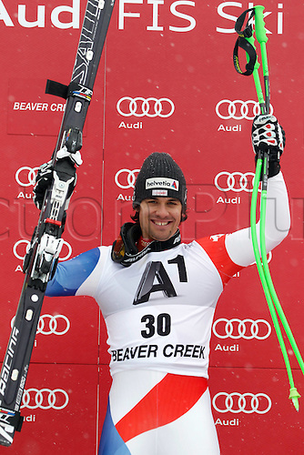 03.12.2011. Beaver Creek Colorado USA Ski Alpine FIS World Cup Super G the men Picture shows Sandro Viletta SUI
